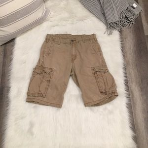 Levi's - Men's Tan Khaki Cargo Shorts 100% Cotton